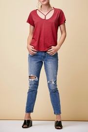 LNA Union Strappy Tee - Front cropped