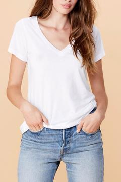 Shoptiques Product: White V Neck