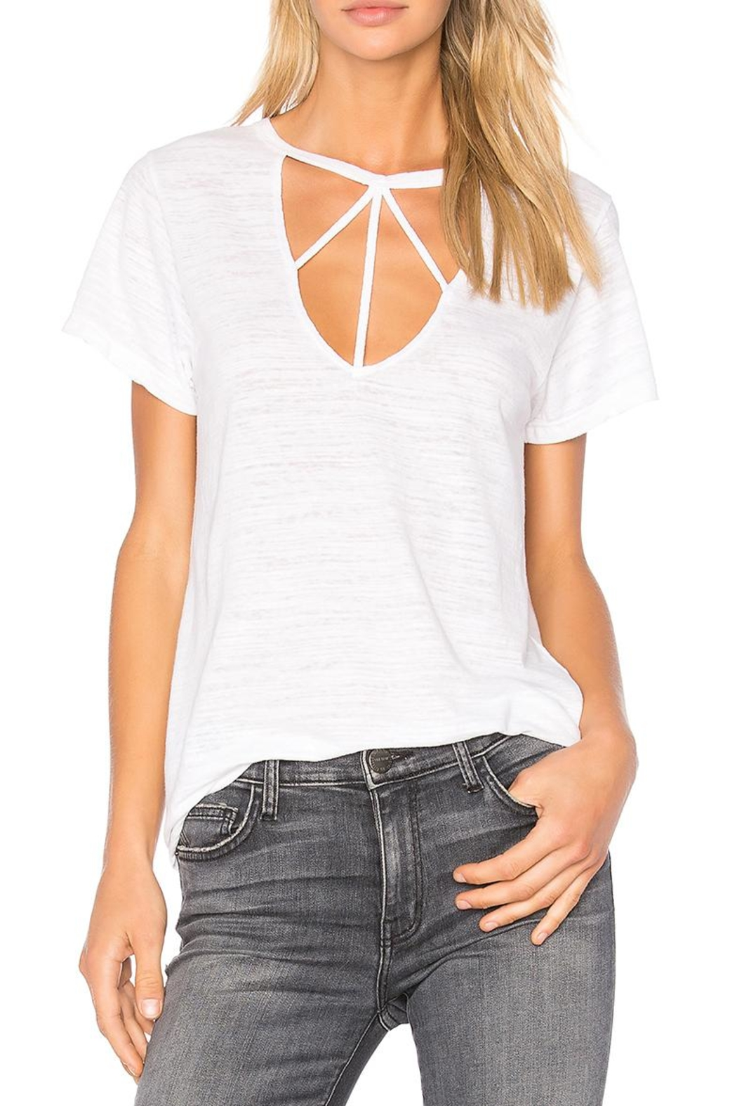 LNA Willow Strappy Tank - Main Image