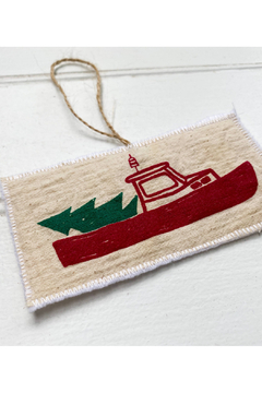 Seagate Studio Lobster Boat Christmas Ornament - Product List Image