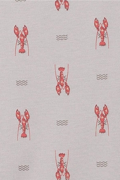 Feather Baby Lobster Tank Romper - Alternate List Image