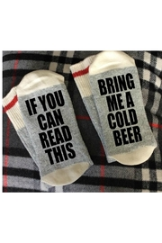 Local Artist  Cold Beer Socks - Product Mini Image
