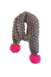Local Color NYC Chunky Pompom Scarf - Product Mini Image
