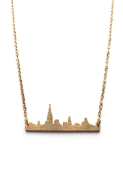 Local Color NYC Nyc Skyline Necklace - Front full body