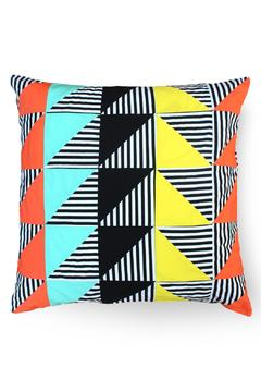 Local Color NYC Triangle Stripes Pillow - Product List Image