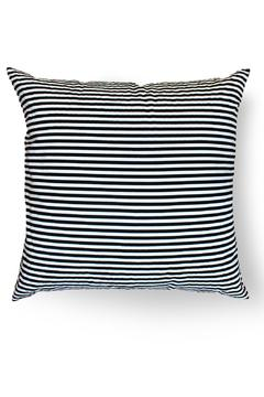 Local Color NYC Triangle Stripes Pillow - Alternate List Image