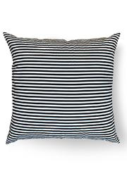 Local Color NYC Triangle Stripes Pillow - Front full body