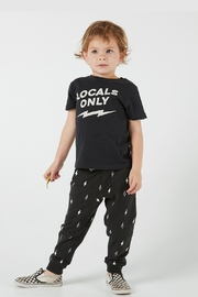 Feather 4 Arrow Locals Only Tee - Front full body