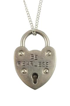 Locks of Promise Fearless Heartlock Necklace - Alternate List Image
