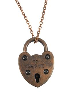 Locks of Promise Brave Heartlock Necklace - Product List Image