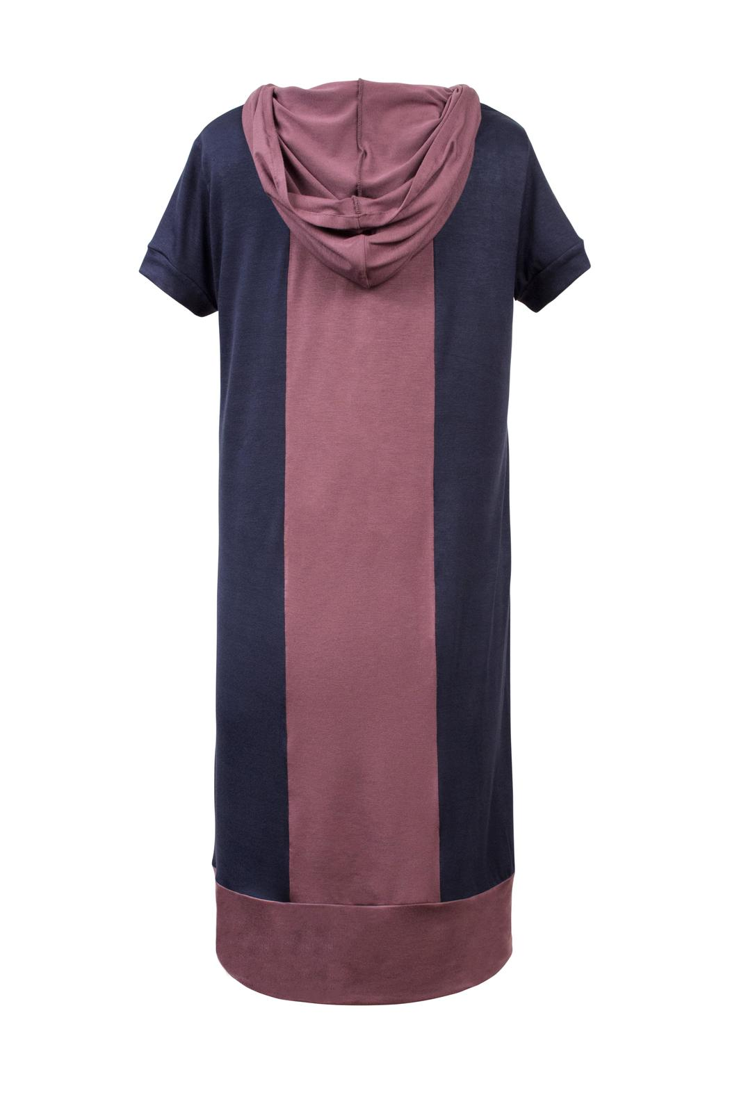 Lococina Hooded Dress - Front Full Image