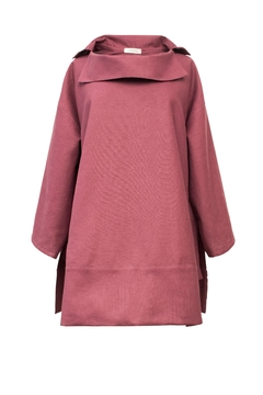 Shoptiques Product: Poncho With Sleeves