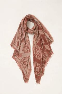 Look by M Aztec Geometric Scarf - Product List Image