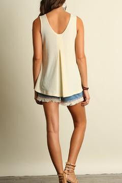 Locust Whimsy Basic Sleeveless Top - Alternate List Image