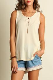 Locust Whimsy Basic Sleeveless Top - Product Mini Image