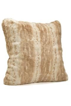 Shoptiques Product: Blonde Faux Mink Pillow