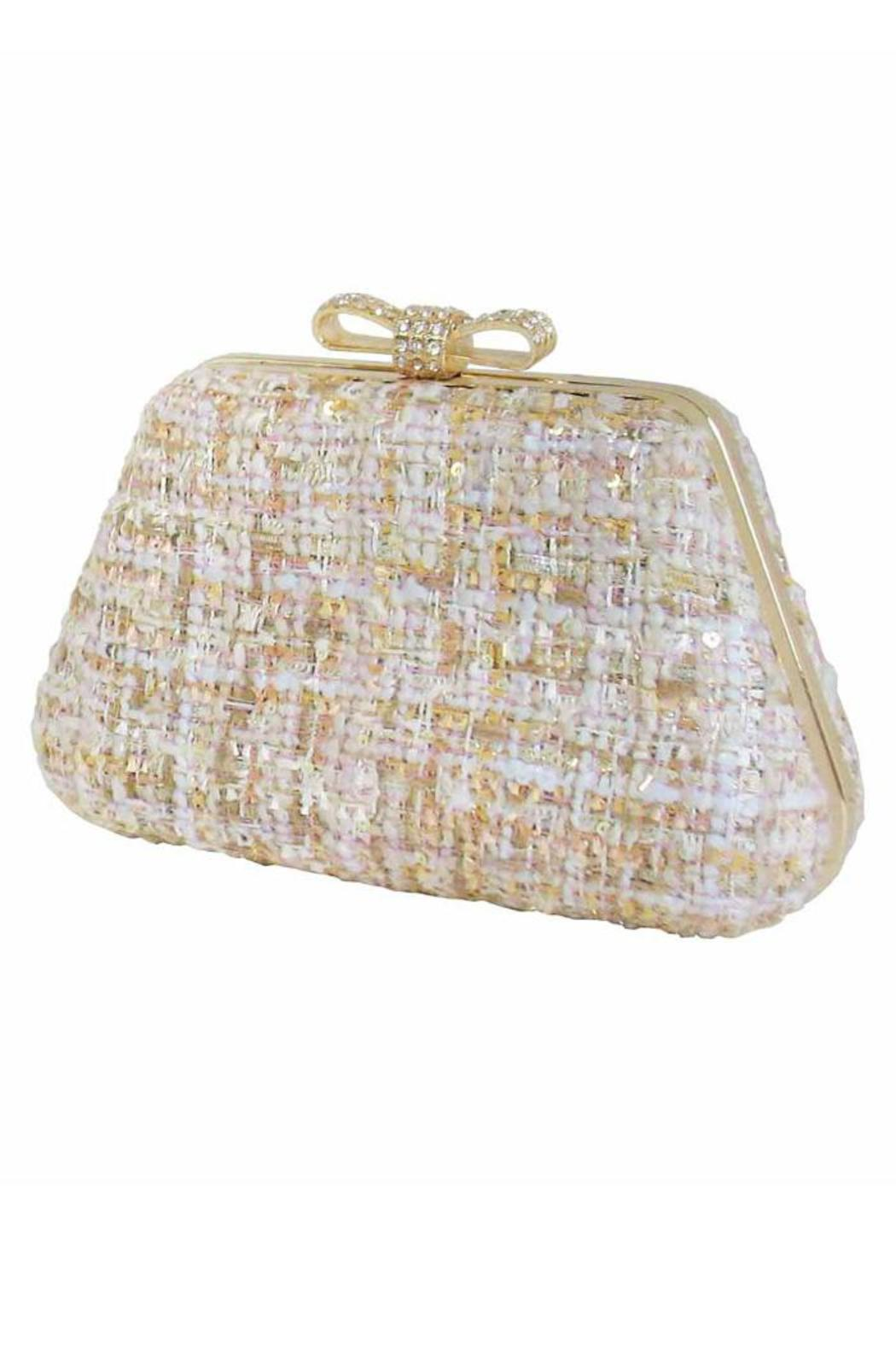 daa6ebc42c171 Locust Whimsy Fabric Clutch from New Jersey — Shoptiques