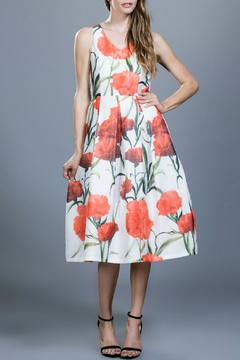 Locust Whimsy Flower Organza Dress - Product List Image
