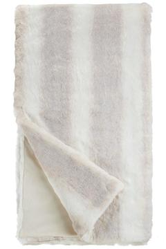 Shoptiques Product: Iced Faux Mink Throw
