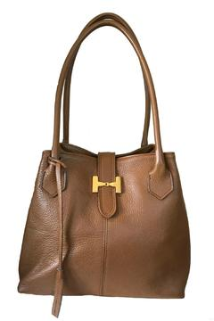Locust Whimsy Italian Leather Bag - Product List Image