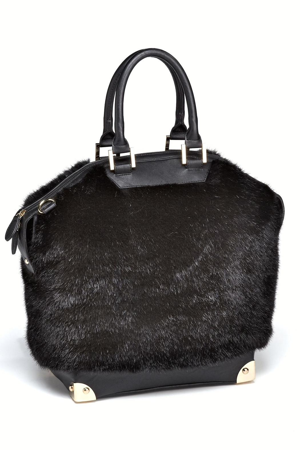 e31bf808c99b Locust Whimsy Faux Mink Bowler Bag from New Jersey — Shoptiques