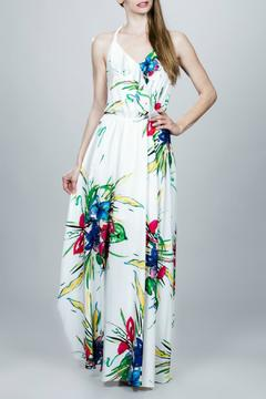 Locust Whimsy Printed Maxi Dress - Product List Image