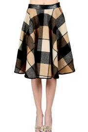 Ryu Retro Plaid Skirt - Product Mini Image
