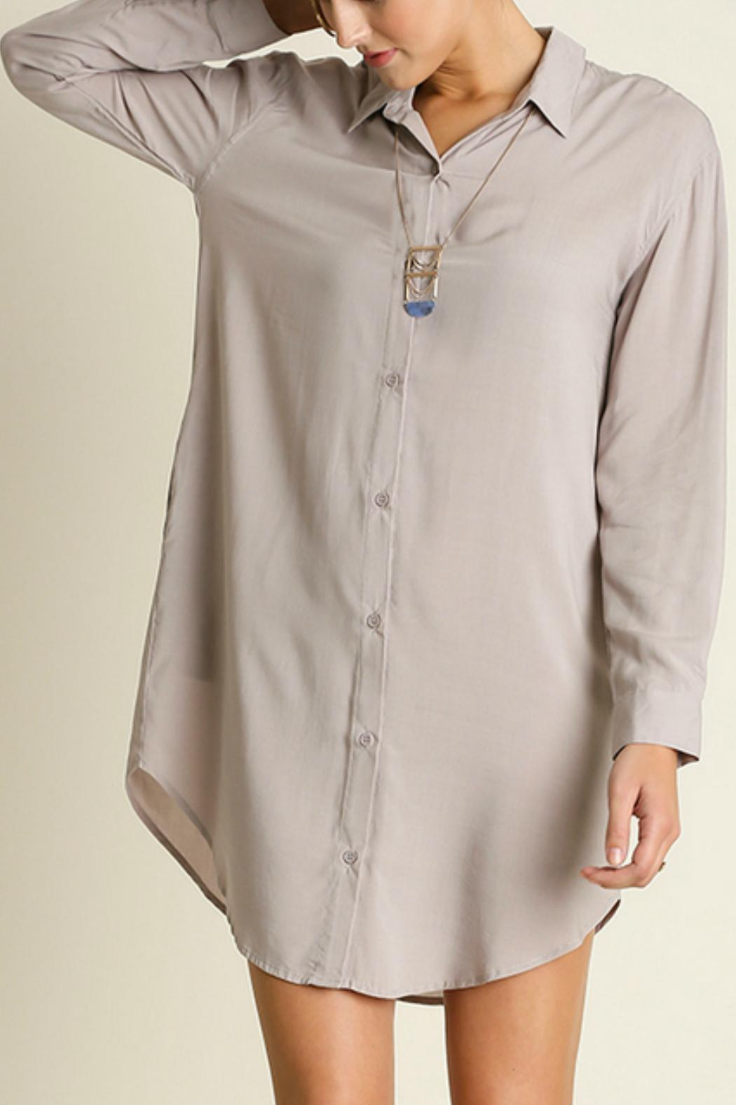1c834900927cf Umgee USA Silky Shirt Dress from New Jersey by Locust Whimsy ...