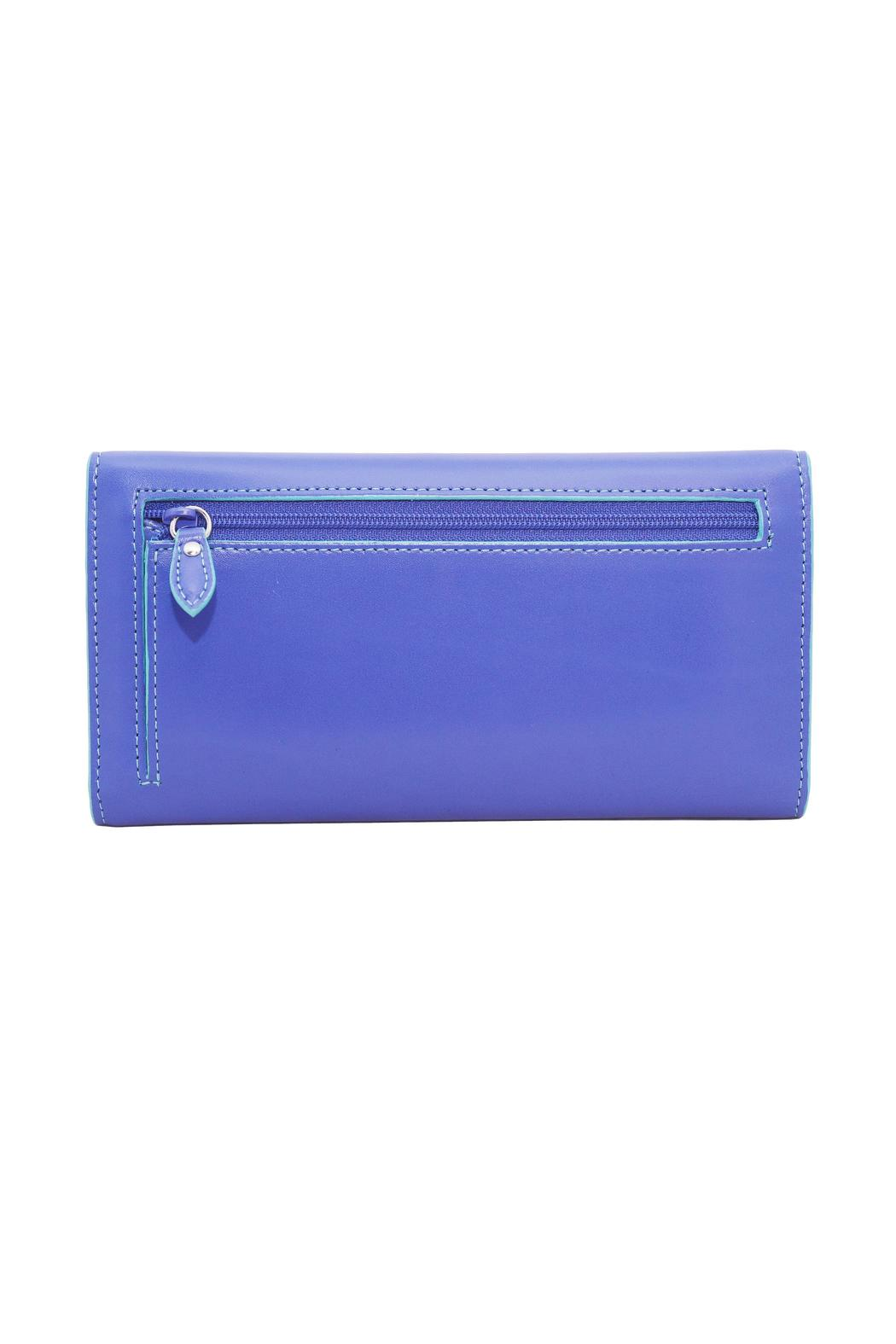 Lodis Audrey Checkbook Clutch - Front Full Image