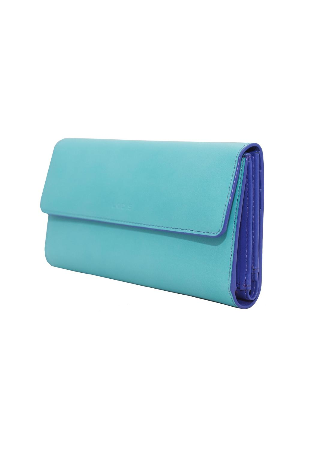 Lodis Audrey Checkbook Clutch - Side Cropped Image