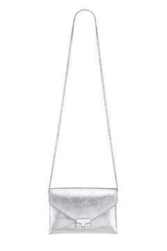Loeffler Randall Silver Jr Lock Clutch - Alternate List Image
