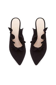 Loeffler Randall Langley Suede Mules - Alternate List Image