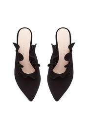 Loeffler Randall Langley Suede Mules - Front full body