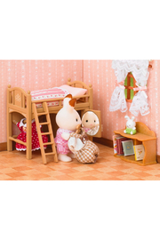 Calico Critters Loft Bed - Front full body