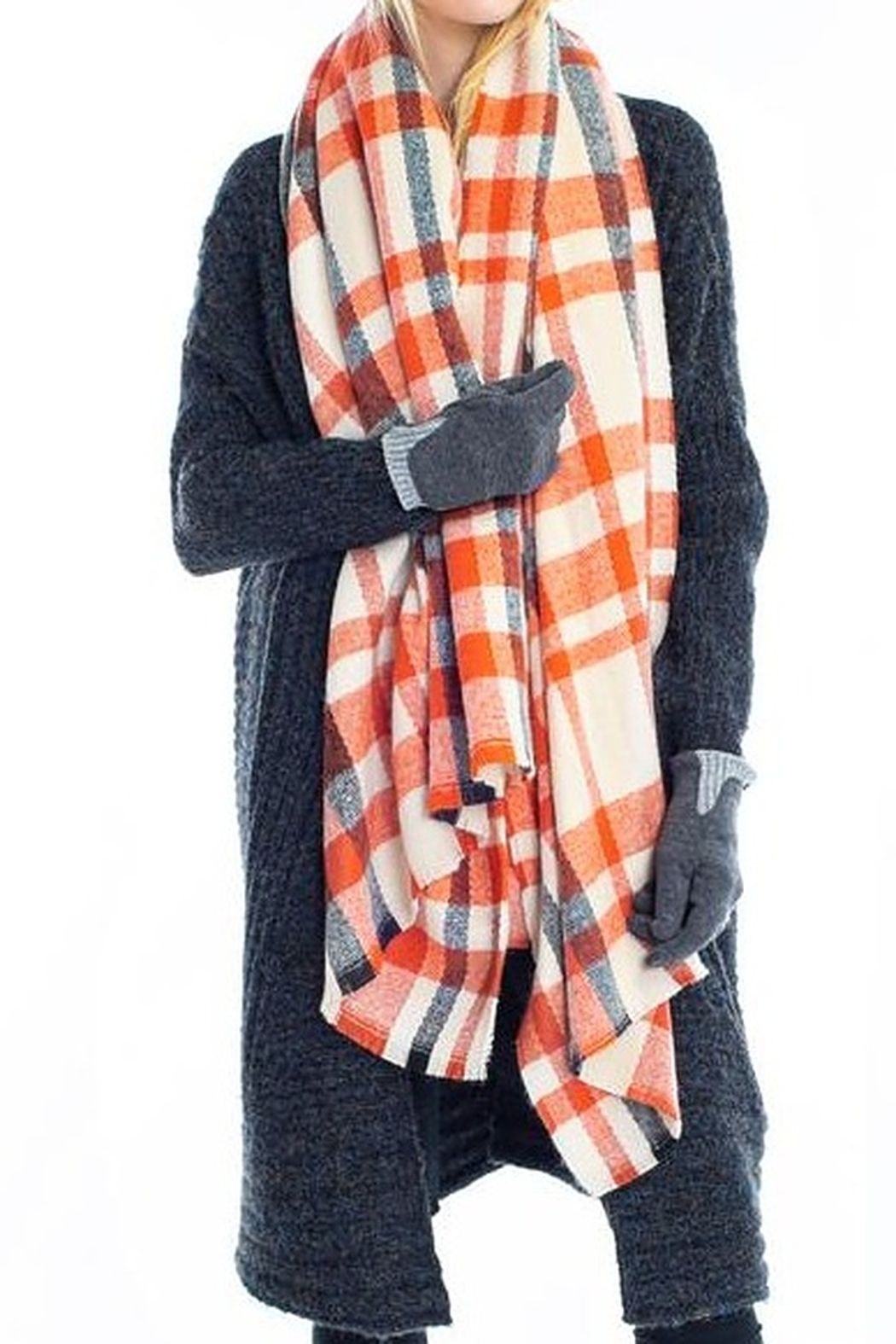 Look by M  Loft Chunky Scarf - Main Image