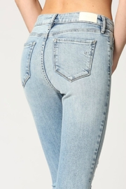 Hidden Jeans Logan Hi Rise Dad Jean w Wrapped Waistband - Side cropped