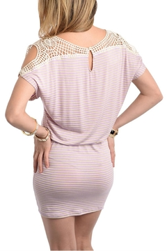 Loila Lilac Stripe Dress - Alternate List Image