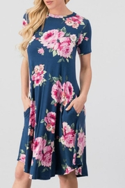Trend:notes Lois Floral Dress - Product Mini Image