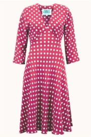 The Seamstress of Bloomsbury Lois Spot Dress - Product Mini Image