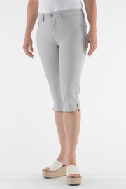 Lois Jeans Alexane Grey Capri - Product Mini Image