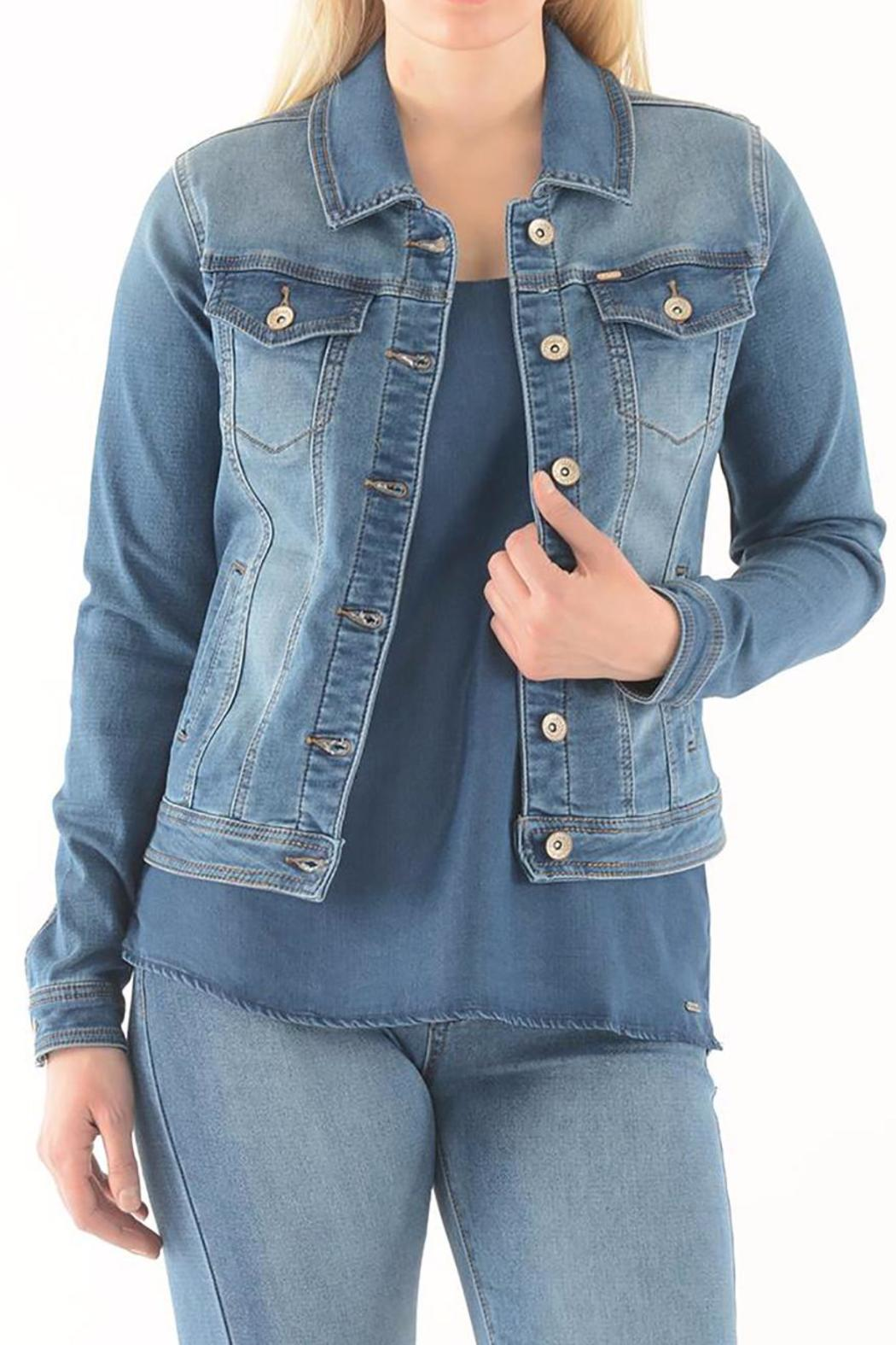 Lois Jeans Stretch Jean Jacket from British Columbia by Silhouette ...
