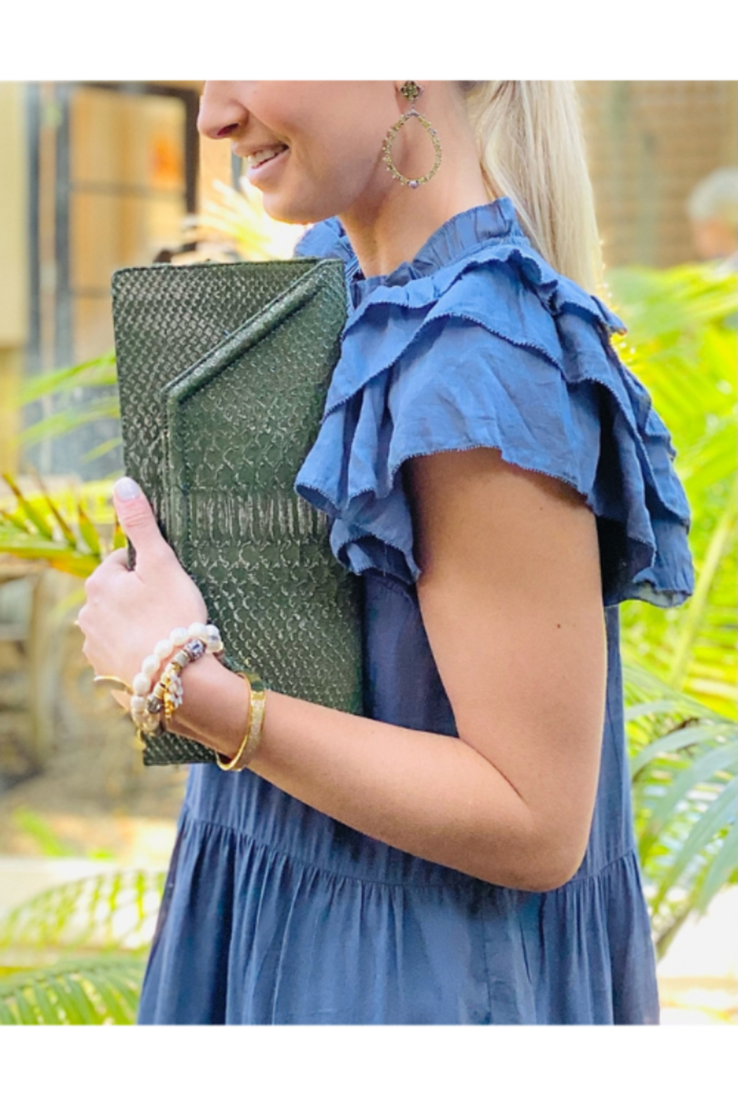 J Markell Lola Clutch - Front Full Image