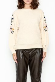 Lola Embroidered Sweater - Product Mini Image