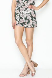 Lola Printed Shorts - Front cropped