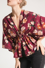 Others Follow  Lola Floral Top - Front cropped