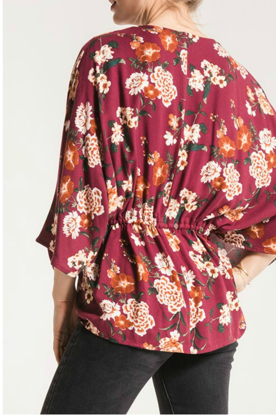 Others Follow  Lola Floral Top - Front Full Image