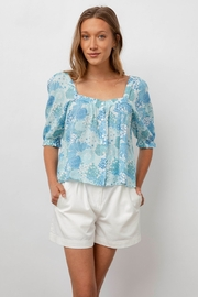 Rails Lola Flowers Blouse - Front cropped