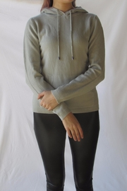 LOLA Grey Pullover Sweater - Front full body