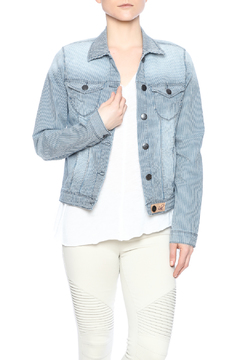 Shoptiques Product: Striped Jean Jacket