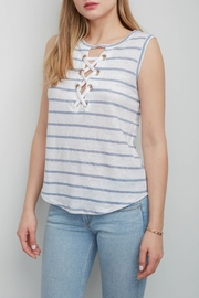 Generation Love  Lola Lace-Up Top - Product Mini Image